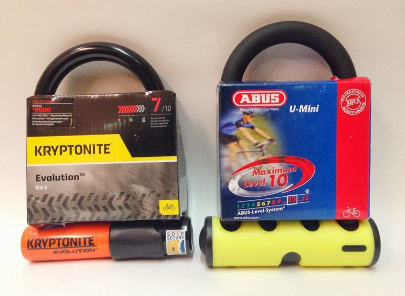 Abus vs Kryptonite Security Ratings