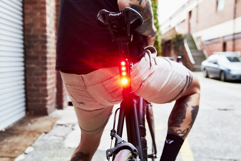 Knog Blinder Road R70 on Eco Flash Mode