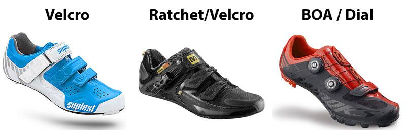 Resultado de la imagen para el ciclismo de zapatos cómo