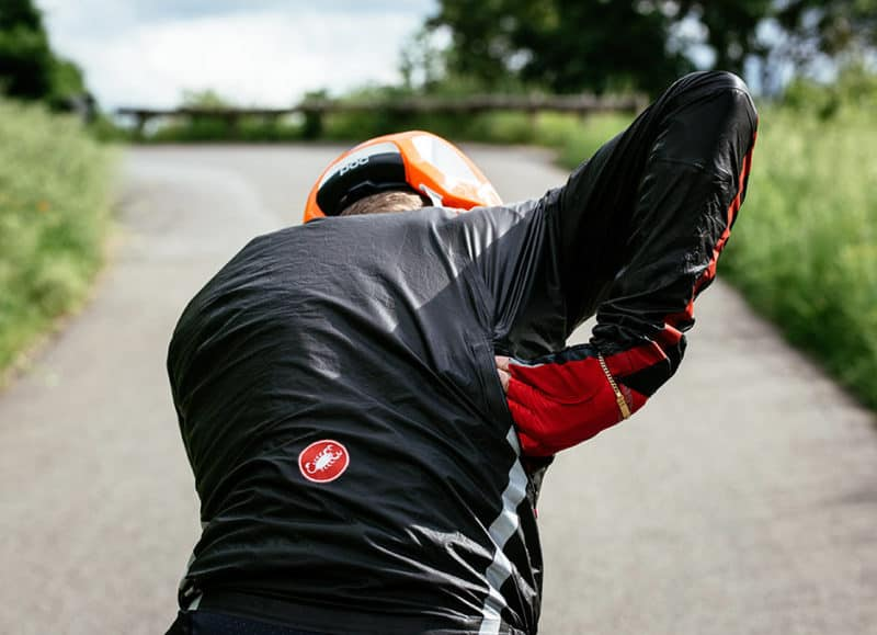 Castelli Idro Jacket Side Pockets