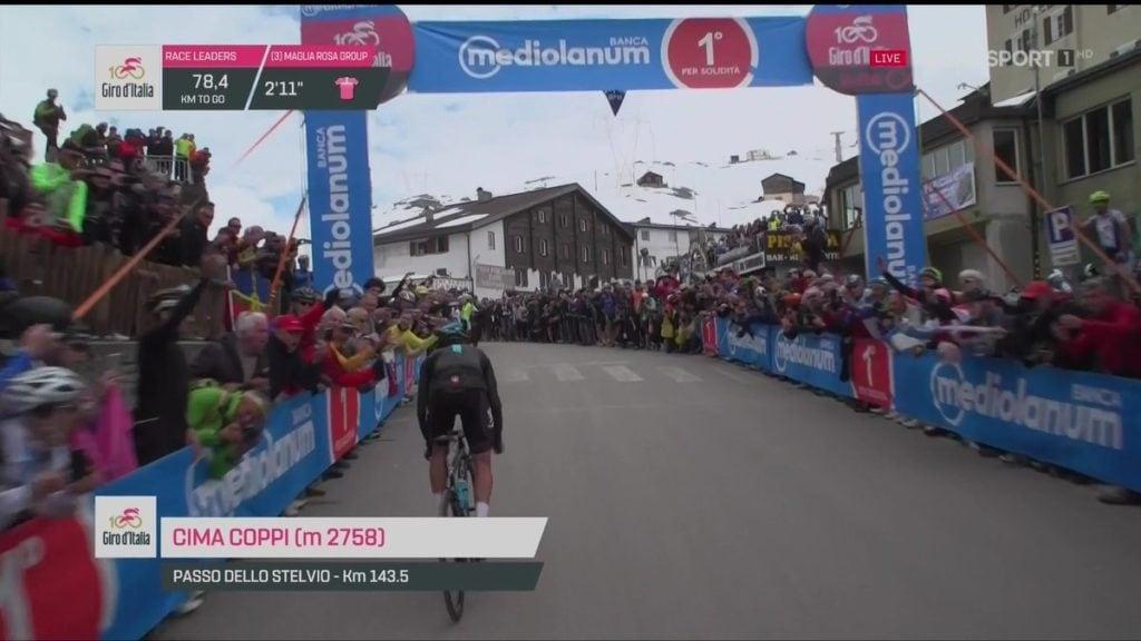 Giro d Italia Cima Coppi Stelvio
