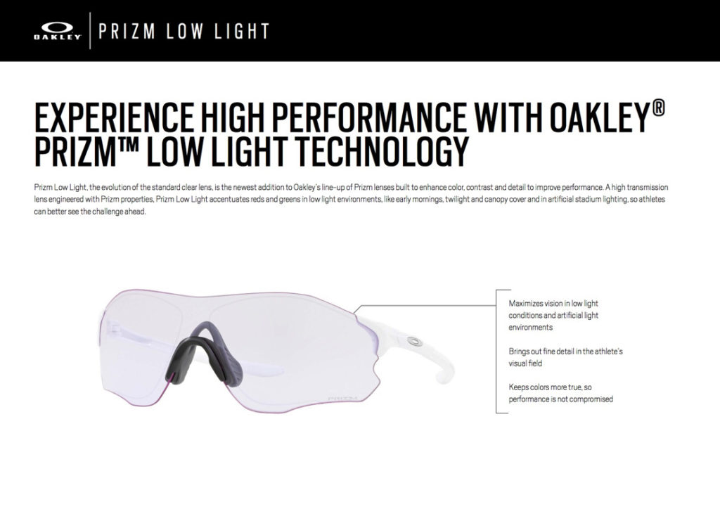 Oakley Prizm Low Light Description