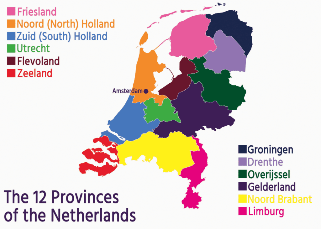 Provinces of Netherlands