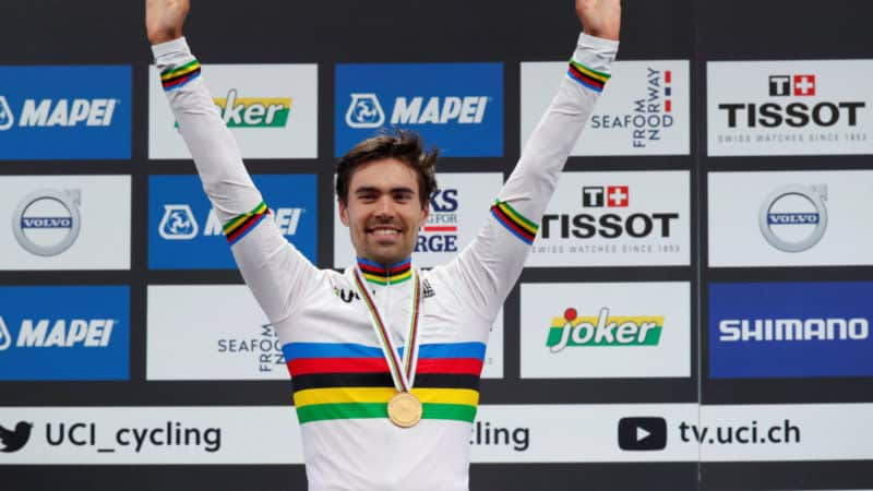 Tom Dumoulin wins the 2017 World ITT Championship