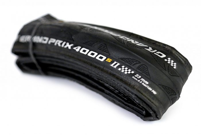Continental GP4000 S2 Tires Folded