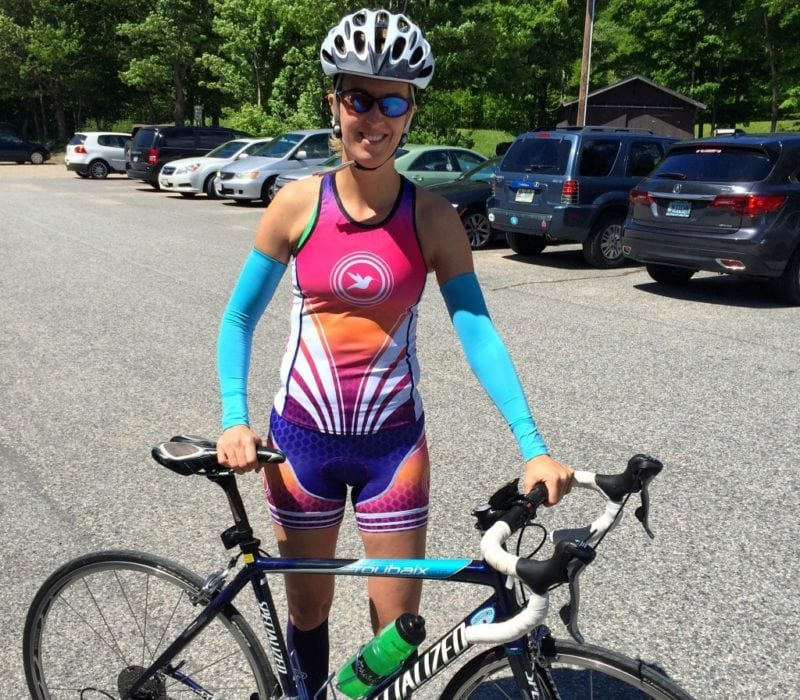 Sleeveless Jersey with Arm Warmers Cyclist