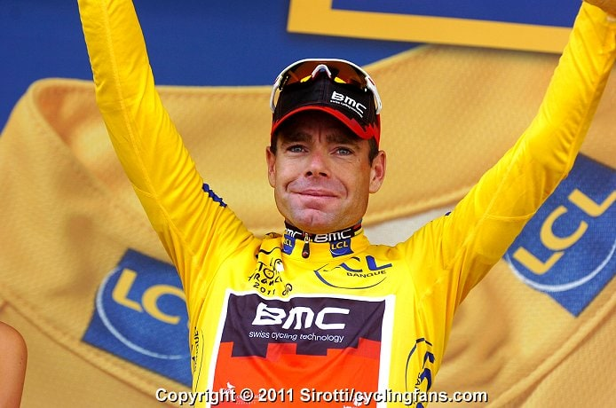 Cadel Evans won the 2011 Tour de France
