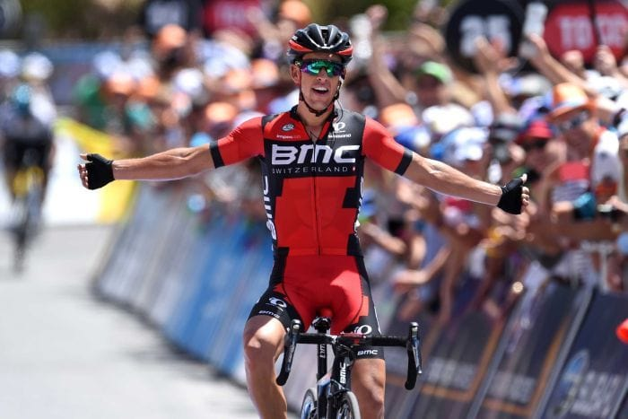 Richie Porte Winning at Tour Down Under 2016