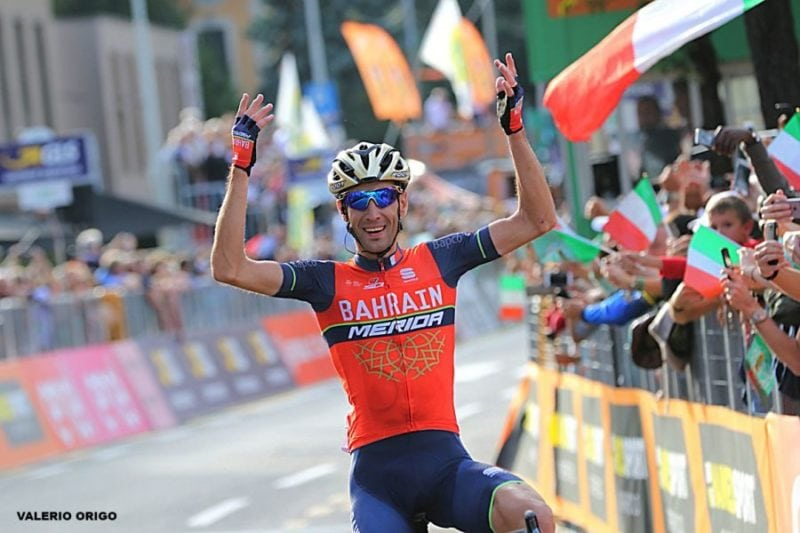 Vincenzo Nibali Winning