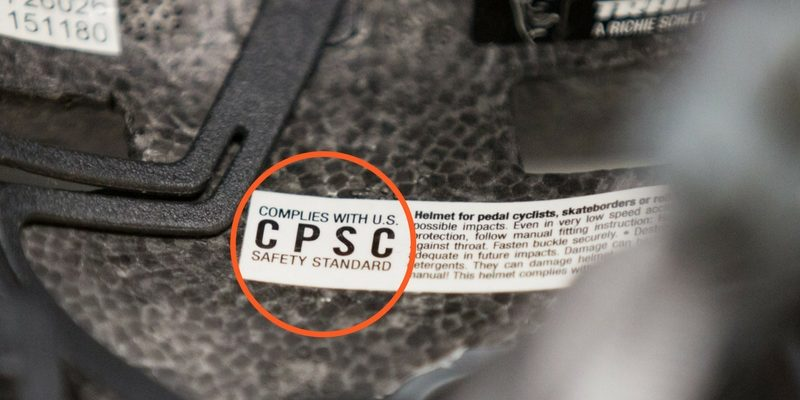 CPSC Road Bike Helmet Standards