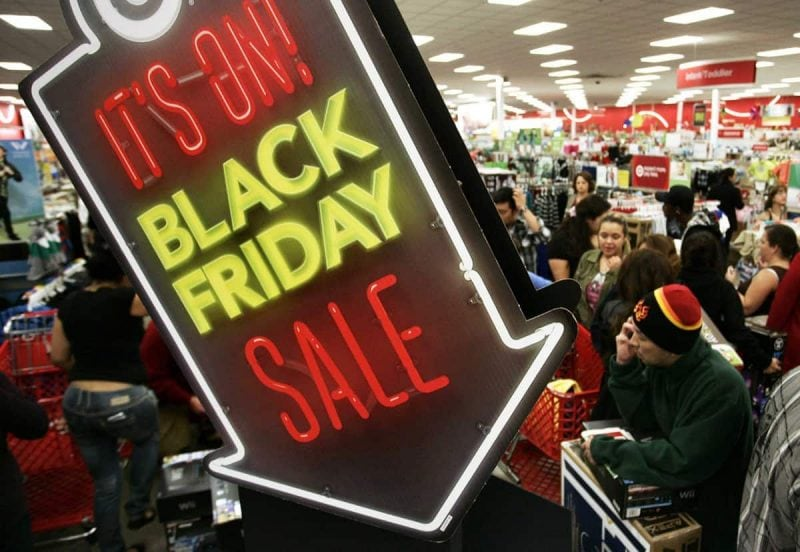 Black Friday Sale Sign