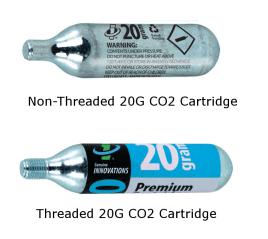 Threaded vs Non Threaded CO2 Canister