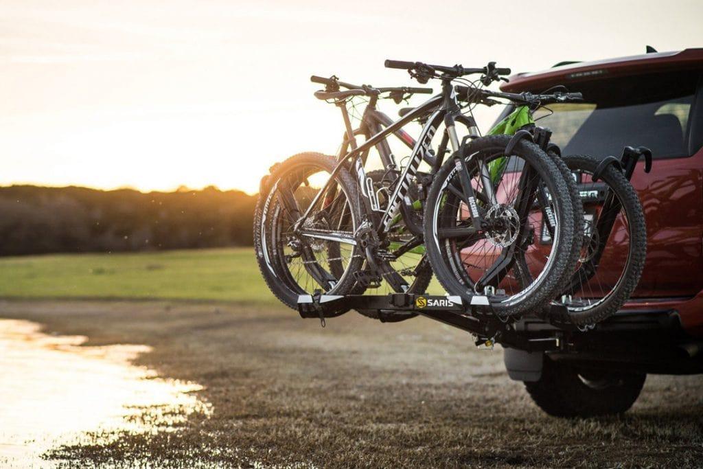 A Tray Hitch Bike Rack