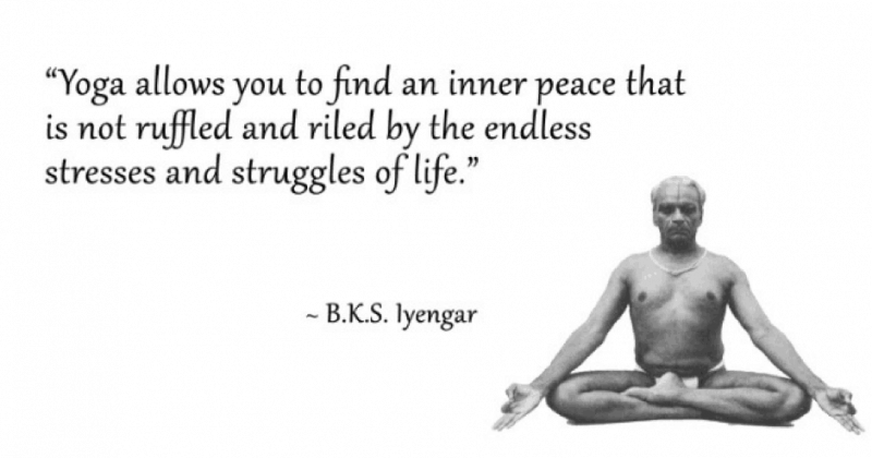 BKS Iyengar Yoga Quotes