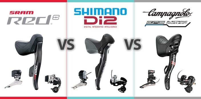 SRAM Red eTap vs Di2 vs EPS