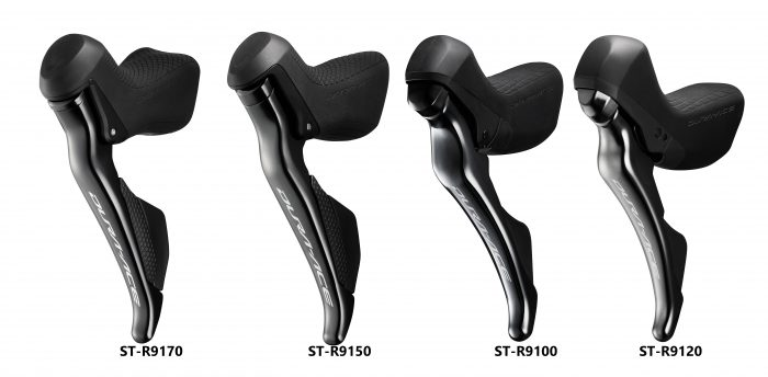 Shimano Dura-Ace 9100 Series Shifters Comparison