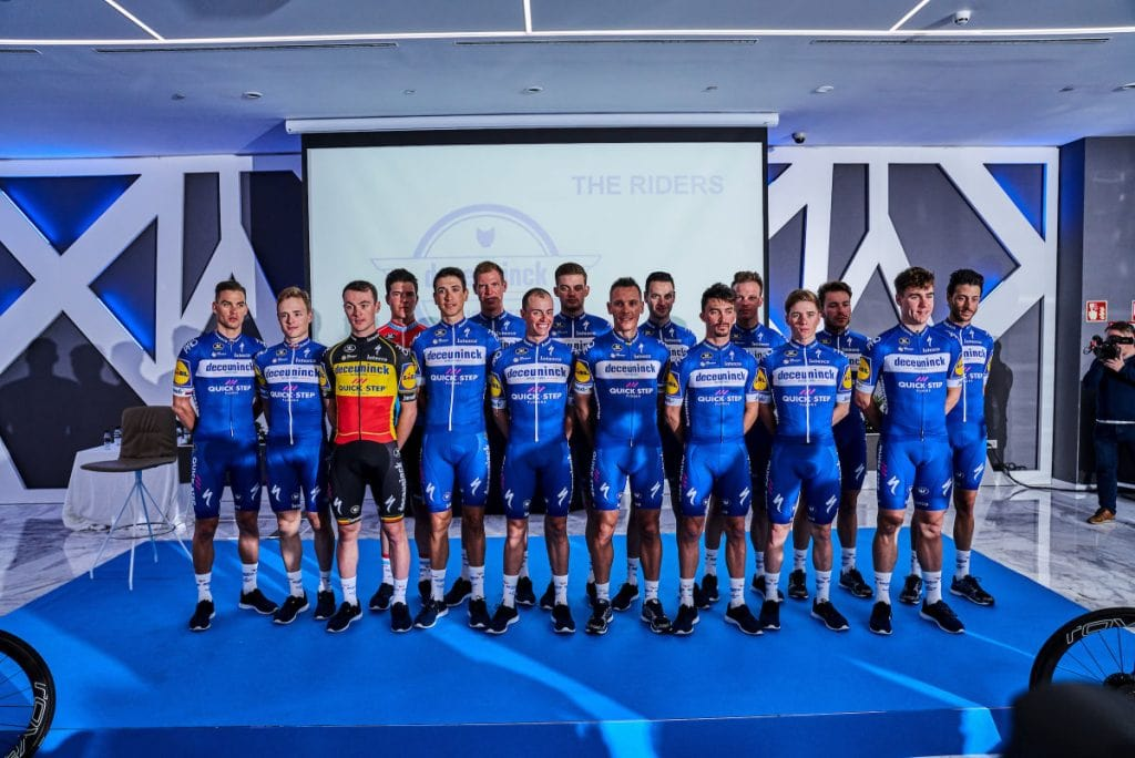 Deceuninck Quickstep Team Kit 2019