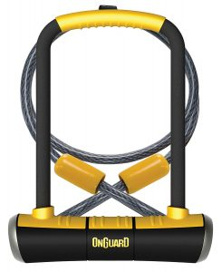 OnGuard Double Team Pitbull Bike U-Lock