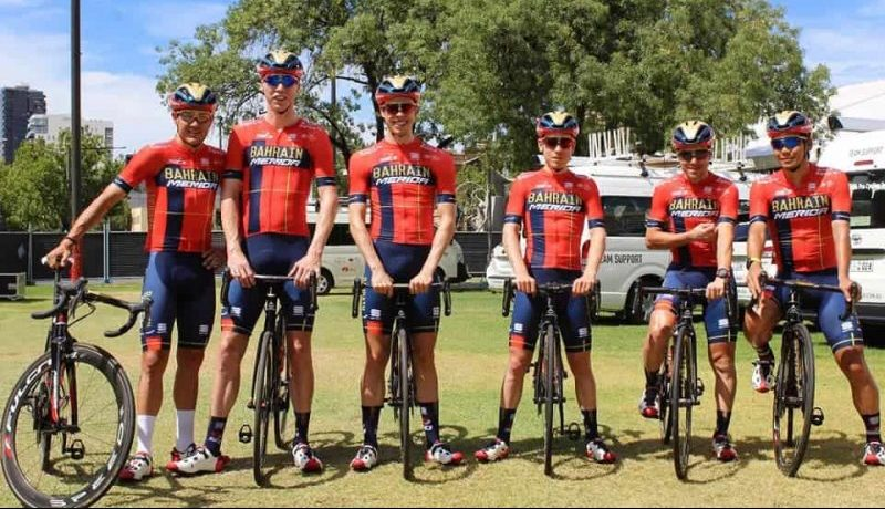 Team Bahrain Merida Kit 2019
