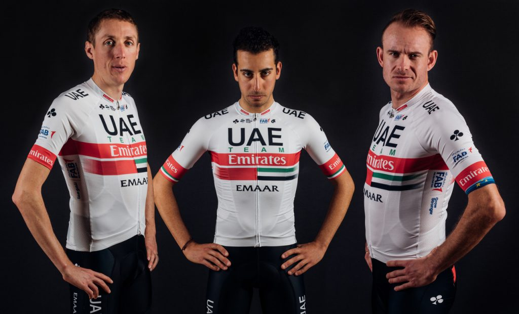 UAE Team Emirates Kit 2019