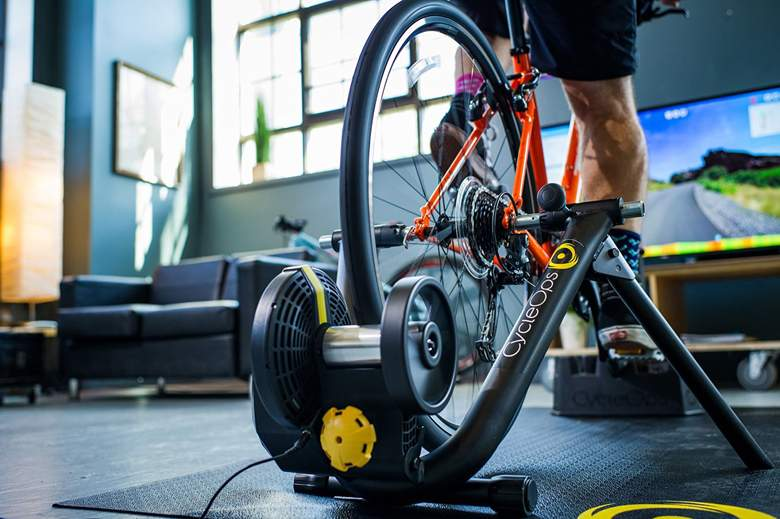 Wheels on Indoor Bike Trainers