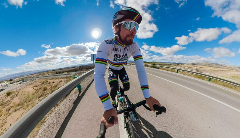 Peter Sagan Captured on GoPro