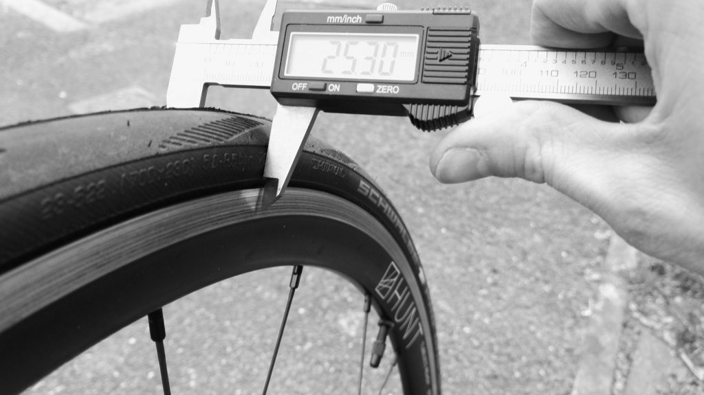 Tire Width Measurement