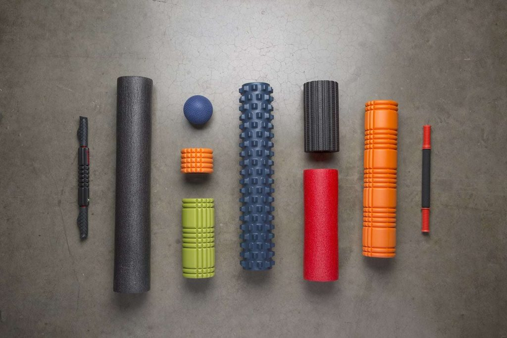 A Variety of Foam Rollers