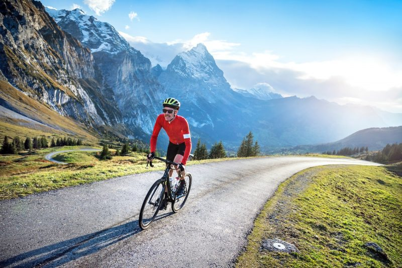 Cycling in the Alps
