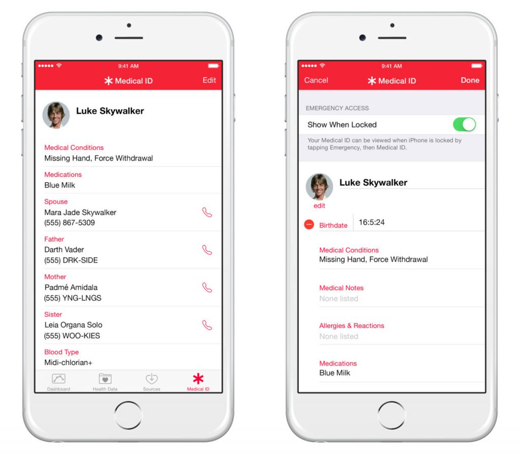Set Up Emergency Contact on IOS12