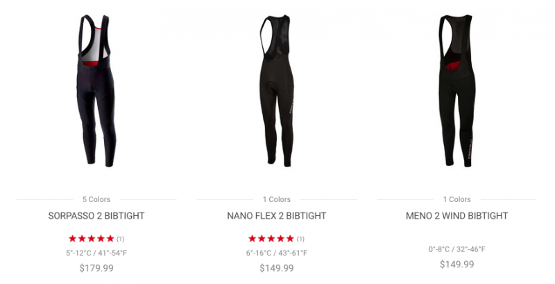Castelli Bib Tights