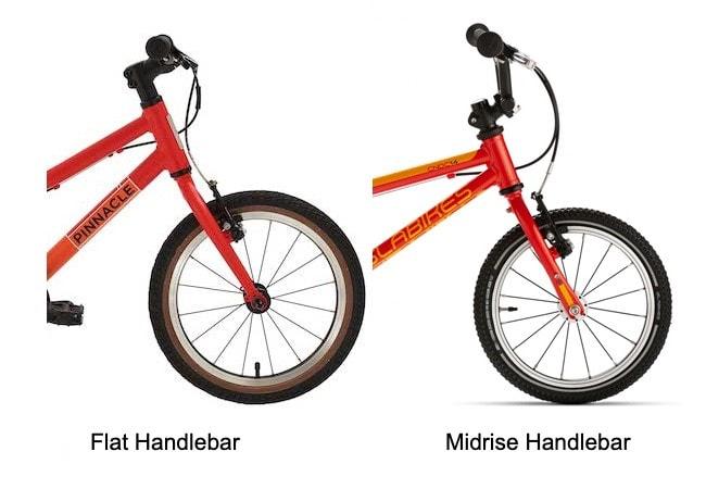 Flat vs Mid-rise Handlebars