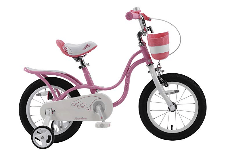 RoyalBaby Little Swan 14 Inch Girls Bike