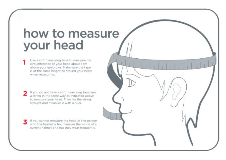 How to Measure Forehead Size