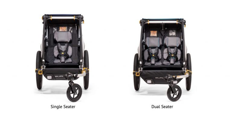 Single vs Dual Seater Bike Trailer