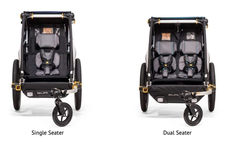 Single vs Dual Seater Bike Trailer
