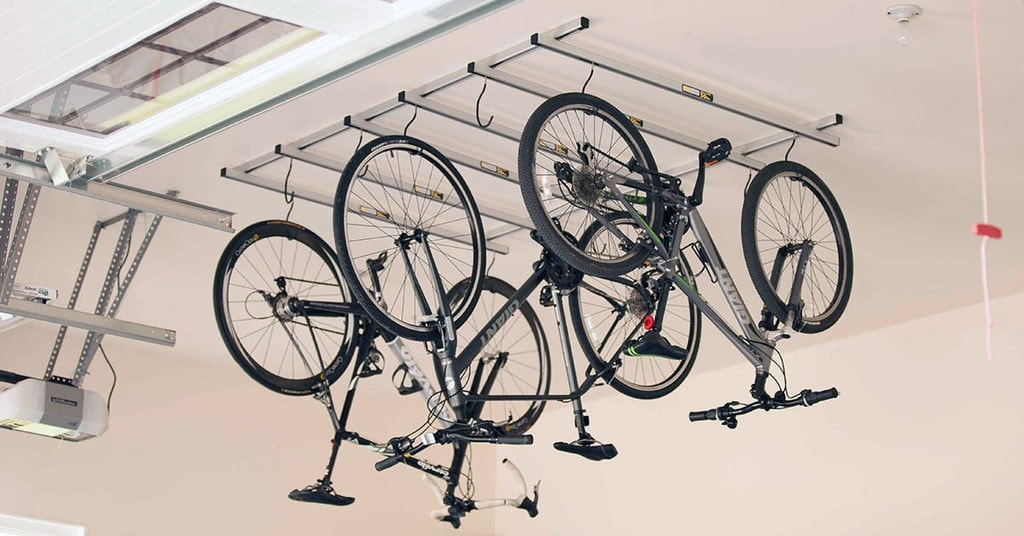 Ceiling Mounted Garage Bike Racks