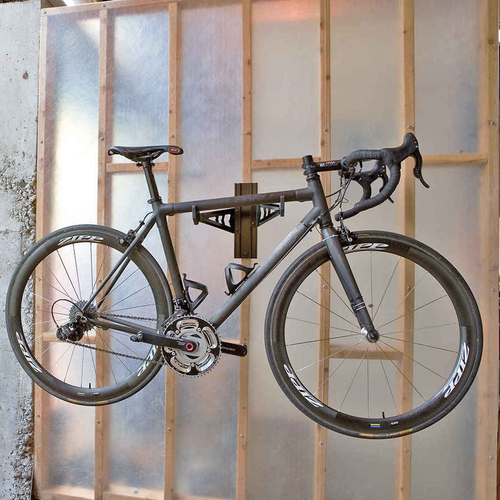 Garage Wall Mounted Frame Bike Rack