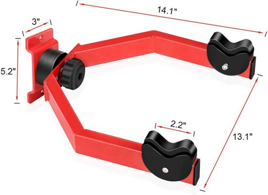 Hasit Wall Mount Bike Hanger