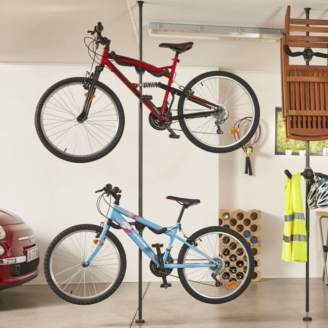 Indoor Floor to Ceiling Bike Rack