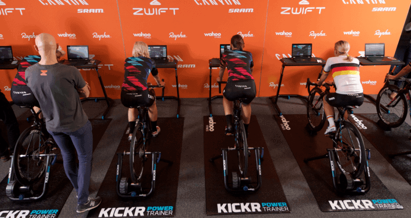 Indoor Cycling Zwift