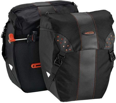 Ibera Bicycle Bag PakRak Panniers