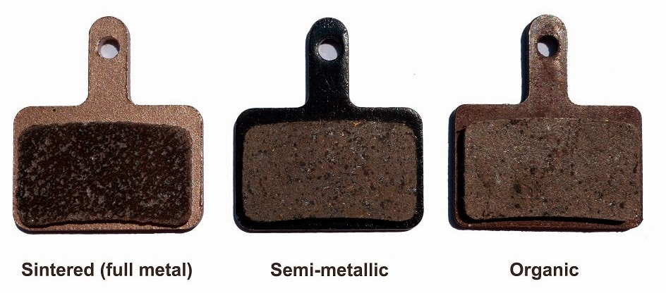 Types of Disc Brake Pads Compounds