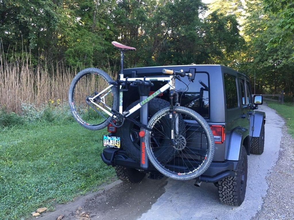 Around the Spare Bike Rack