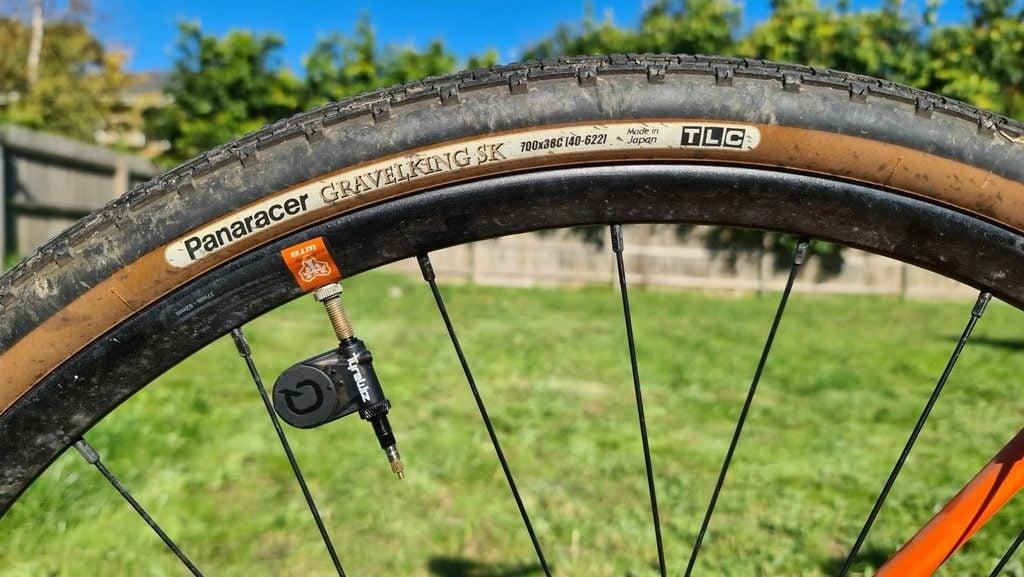 Quarq TyreWhiz Installed