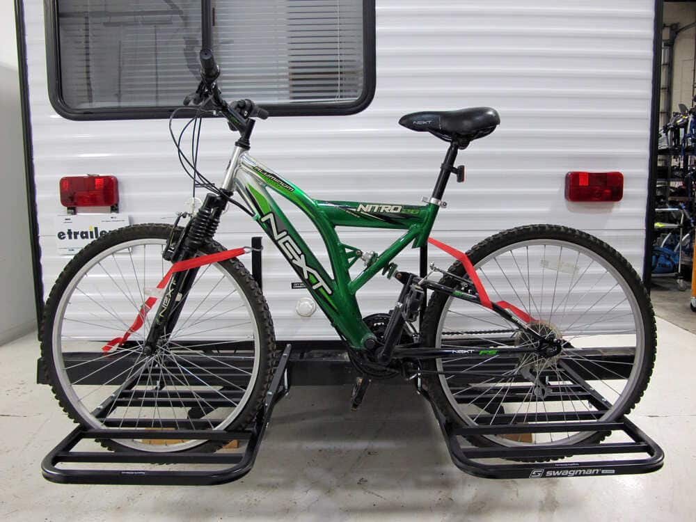 RV Bumper Bike Rack