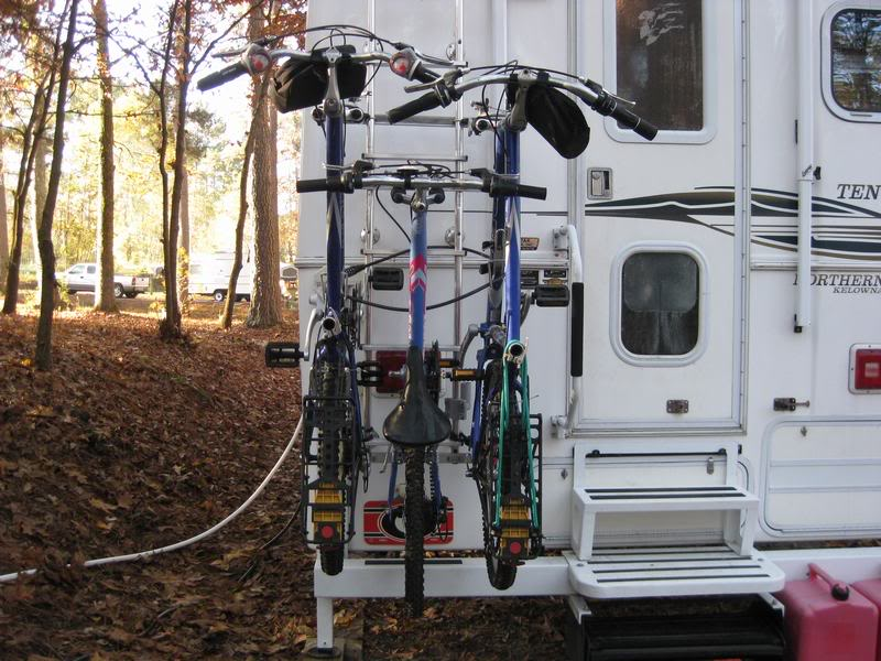RV Ladder Bike Rack
