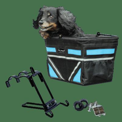 Travelin K9 Pet-Pilot Dog Bike Basket