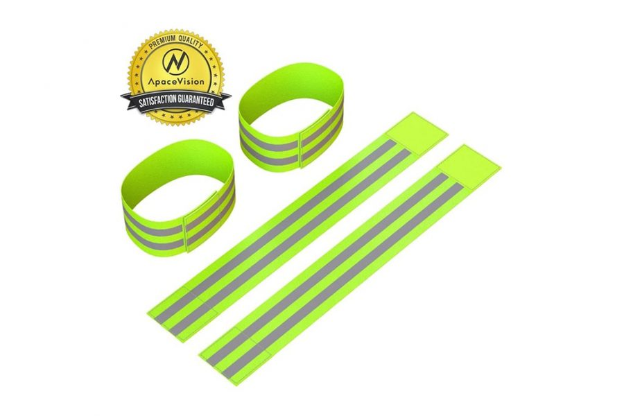 Apace Vision Reflective Ankle Bands