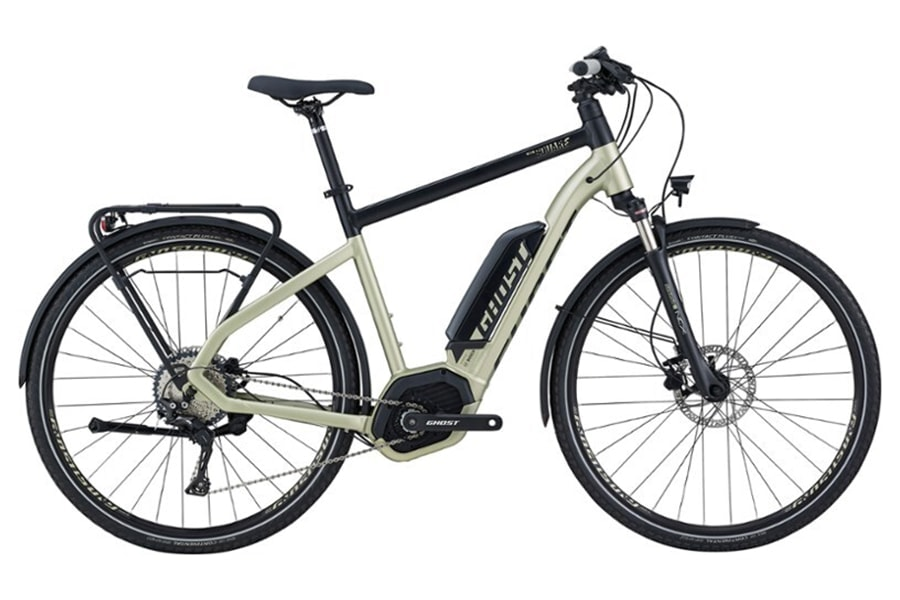 Ghost Hybride Square Trekking 5.8 Commuter Electric Bikes